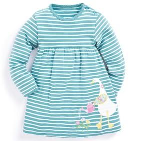 Платье для девочки Гусь - садовник (код товара: 45095): купить в Berni