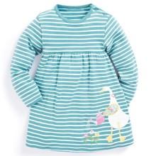 Платье для девочки Гусь - садовник (код товара: 45095)