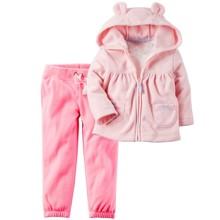 Флісовий костюм для дівчинки оптом (код товара: 45111)