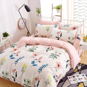 Комплект постельного белья Луговые цветы (полуторный) (код товара: 45114): купить в Berni