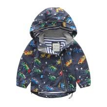 Куртка для хлопчика демісезонна Машинки (код товара: 45136)