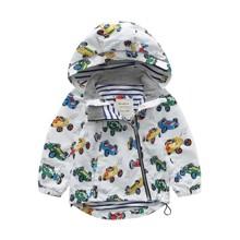 Куртка для мальчика демисезонная Машинки (код товара: 45139)