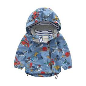 Куртка для мальчика Трактор (код товара: 45138): купить в Berni