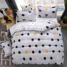 Уценка (дефекты)! Комплект постельного белья Безмятежный лес (двуспальный-евро) (код товара: 45179)