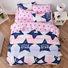 Уценка (дефекты)! Комплект постельного белья Маленькая звезда (двуспальный-евро) (код товара: 45160)