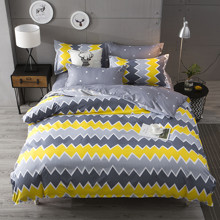 Уценка (дефекты)!  Комплект постельного белья Зигзаг (двуспальный-евро) (код товара: 45183)