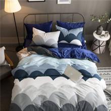 Комплект постельного белья Круглые горы (двуспальный-евро) оптом (код товара: 45274)