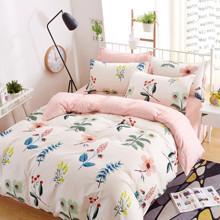 Уценка (дефекты)! Комплект постельного белья Луговые цветы (двуспальный-евро) (код товара: 45207)