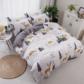Уценка (дефекты)! Комплект постельного белья Олень (полуторный) (код товара: 45227): купить в Berni