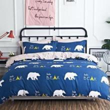 Комплект постельного белья Маленький мишка (двуспальный-евро) оптом (код товара: 45310)