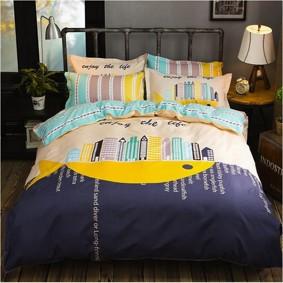 Комплект постельного белья Megapolis (двуспальный-евро) (код товара: 45320): купить в Berni