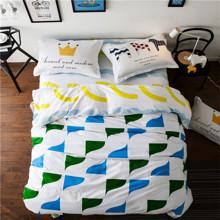 Комплект постельного белья Нежность (двуспальный-евро) (код товара: 45357)