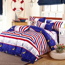 Комплект постельного белья Ночной Дубай (двуспальный-евро) (код товара: 45308)