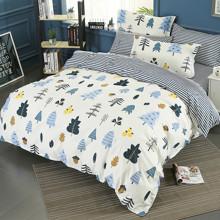 Комплект постельного белья Осенний лес (двуспальный-евро) оптом (код товара: 45340)