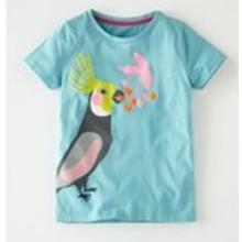 Футболка для девочки Попугай (код товара: 45447)