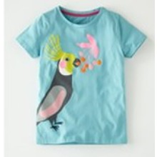 Футболка для дівчинки Папуга оптом (код товара: 45447)