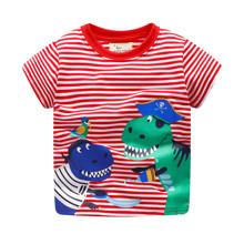 Футболка для мальчика Динозавр - пират оптом (код товара: 45433)