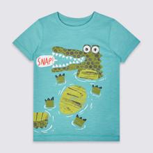 Футболка для мальчика Крокодил (код товара: 45416)