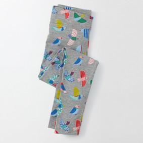 Леггинсы для девочки Птицы (код товара: 45488): купить в Berni