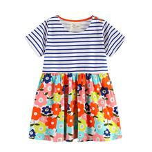 Плаття для дівчинки Квітковий сад оптом (код товара: 45468)