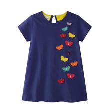 Платье для девочки Бабочки оптом (код товара: 45484)