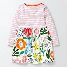 Платье для девочки Цветы оптом (код товара: 45482)