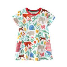 Платье для девочки Джунгли (код товара: 45473)