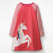 Платье для девочки Единорог (код товара: 45483)