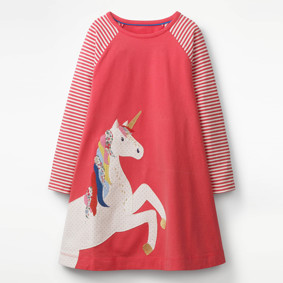 Платье для девочки Единорог (код товара: 45483): купить в Berni