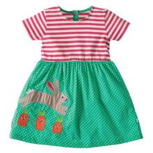 Платье для девочки Кролик и морковка оптом (код товара: 45469)