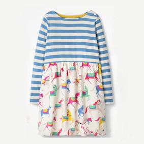 Платье для девочки Лошадки (код товара: 45481): купить в Berni