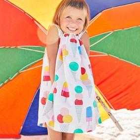 Платье для девочки Мороженое (код товара: 45415): купить в Berni