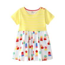 Платье для девочки Мороженое (код товара: 45478)