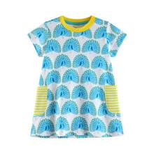 Платье для девочки Павлин (код товара: 45474)