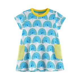 Платье для девочки Павлин (код товара: 45474): купить в Berni