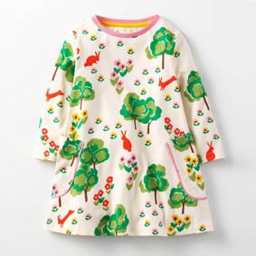 Платье для девочки Поляна (код товара: 45480): купить в Berni