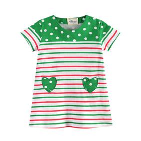 Платье для девочки Зеленое сердце (код товара: 45475): купить в Berni