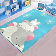Килимок для дитячої кімнати Хом'ячки 100 х 130 см (код товара: 45570)