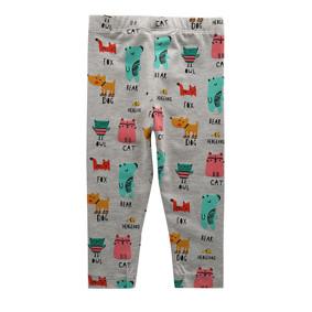 Леггинсы для девочки Забавные животные (код товара: 45530): купить в Berni