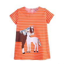 Плаття для дівчинки Коні оптом (код товара: 45535)