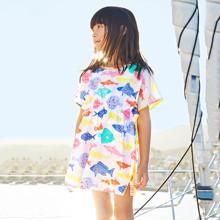 Платье для девочки Цветные рыбки (код товара: 45515)