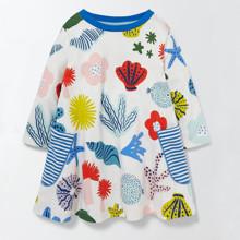 Платье для девочки Море (код товара: 45502)