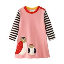 Платье для девочки Совы (код товара: 45527)