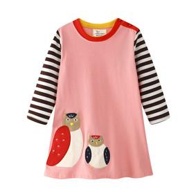 Платье для девочки Совы (код товара: 45527): купить в Berni