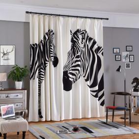 Штора Zebra 185 х 265 2 шт. (код товара: 45548): купить в Berni