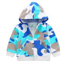 Кофта детская Голубой камуфляж (код товара: 45637)