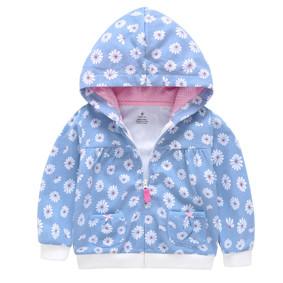Кофта для девочки Ромашка, голубой (код товара: 45640): купить в Berni