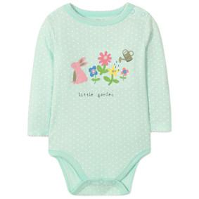 Боди для девочки Маленький сад (код товара: 45736): купить в Berni