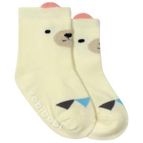 Детские антискользящие носки Белый мишка (код товара: 45796): купить в Berni
