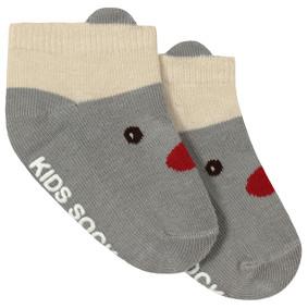 Детские антискользящие носки Красный нос оптом (код товара: 45730): купить в Berni